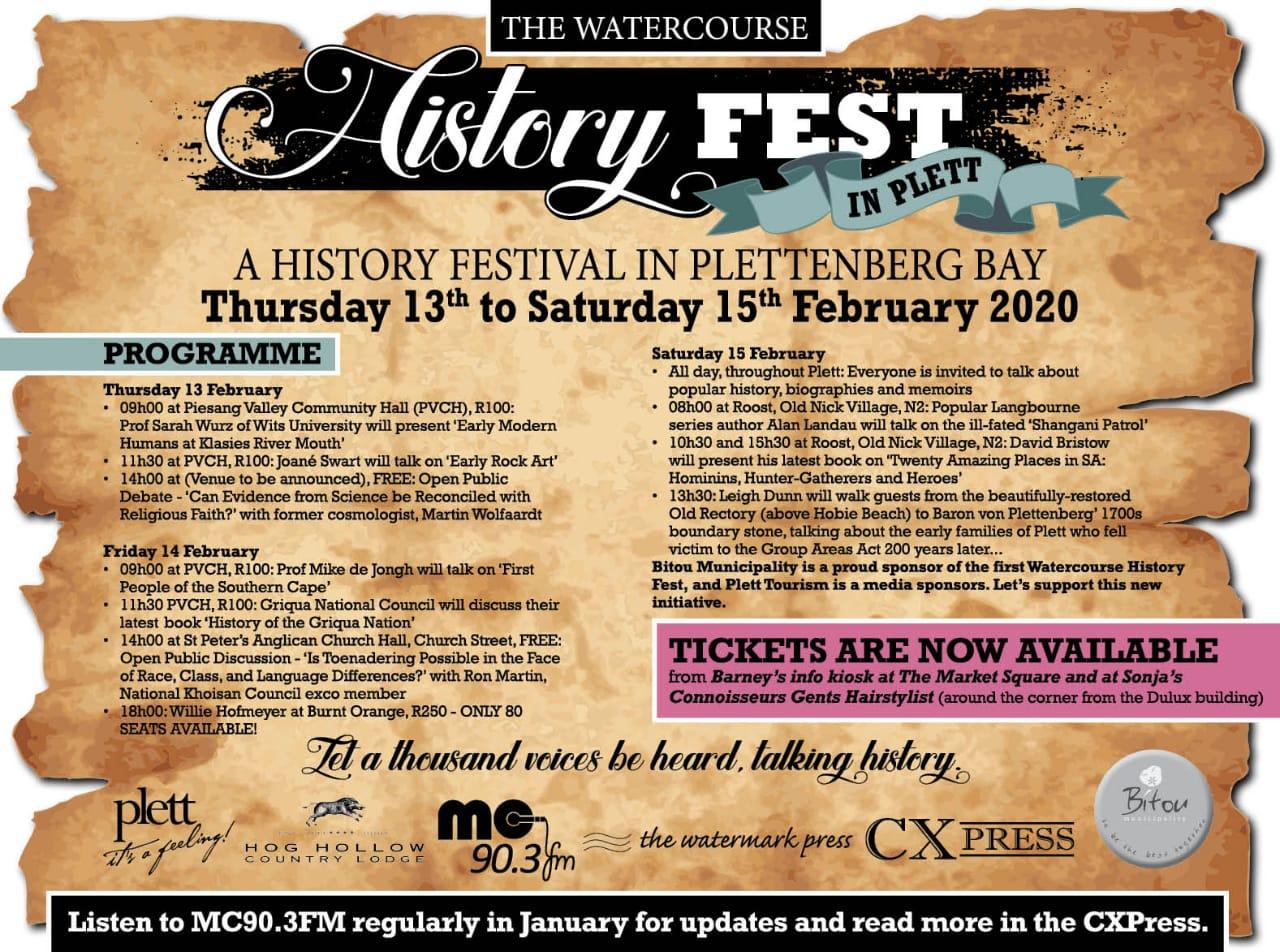 History Festival Plett