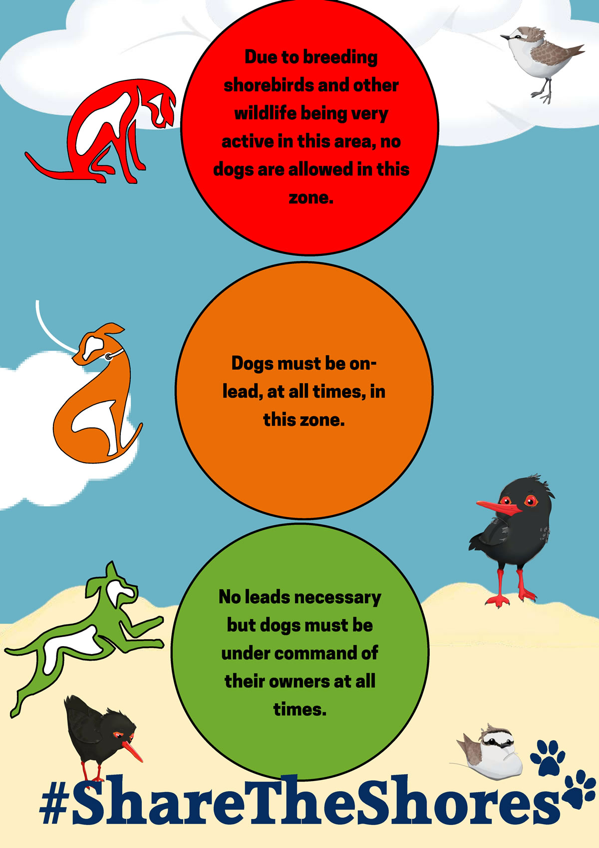 Dog Regulations on Plett Beaches