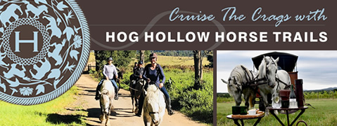 Cruise the Crags with Hog Hollow Horse and Carriage Trails