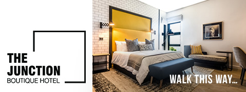 The Junction Boutique Hotel in Main Street Plettenberg Bay