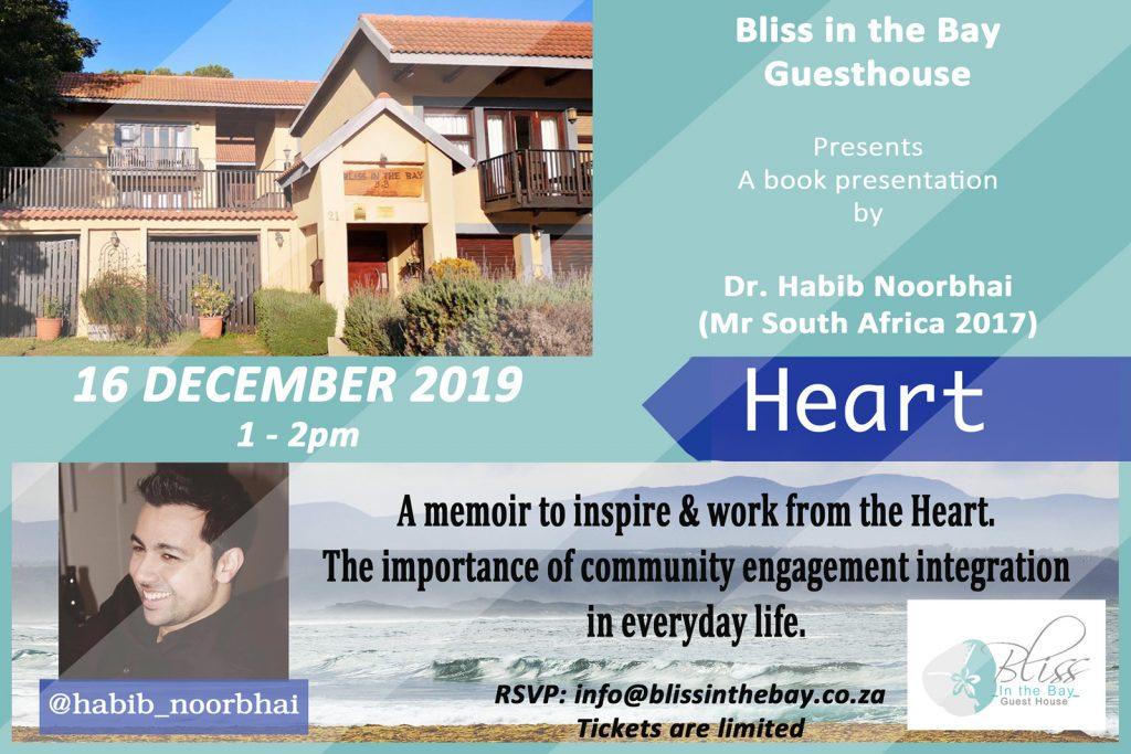 Mr SA 2017 'Heart' - Uplifting Presentation and Book Signing