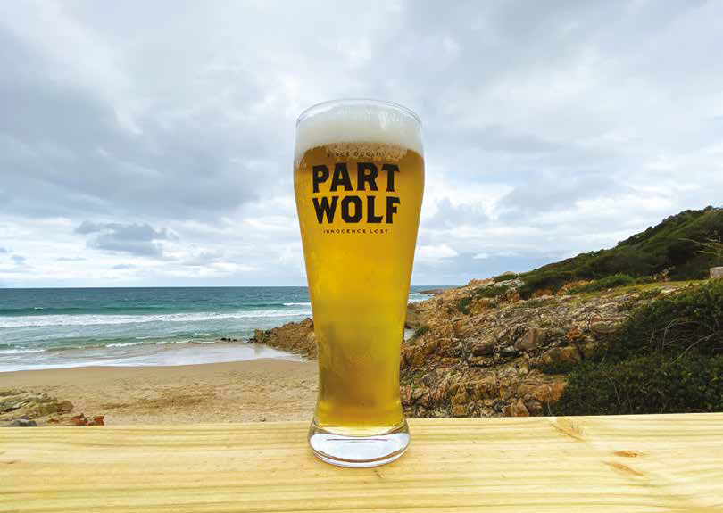 Wandisile finds the coldest beer in Plett
