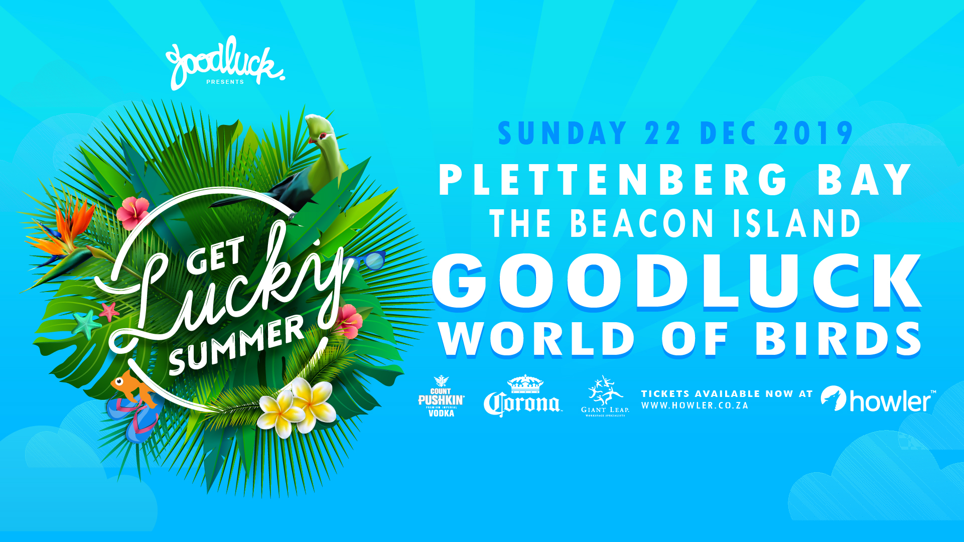 Get Lucky Summer in Plett Goodluck and World of Birds