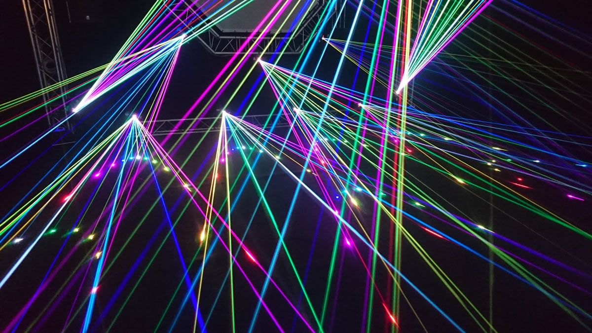 Laser light show display to be held in Plett in place of fireworks