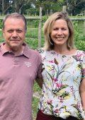Meet Plett's new-wave wine farm owners, Laura and Philip Harvey at Luka Vineyards