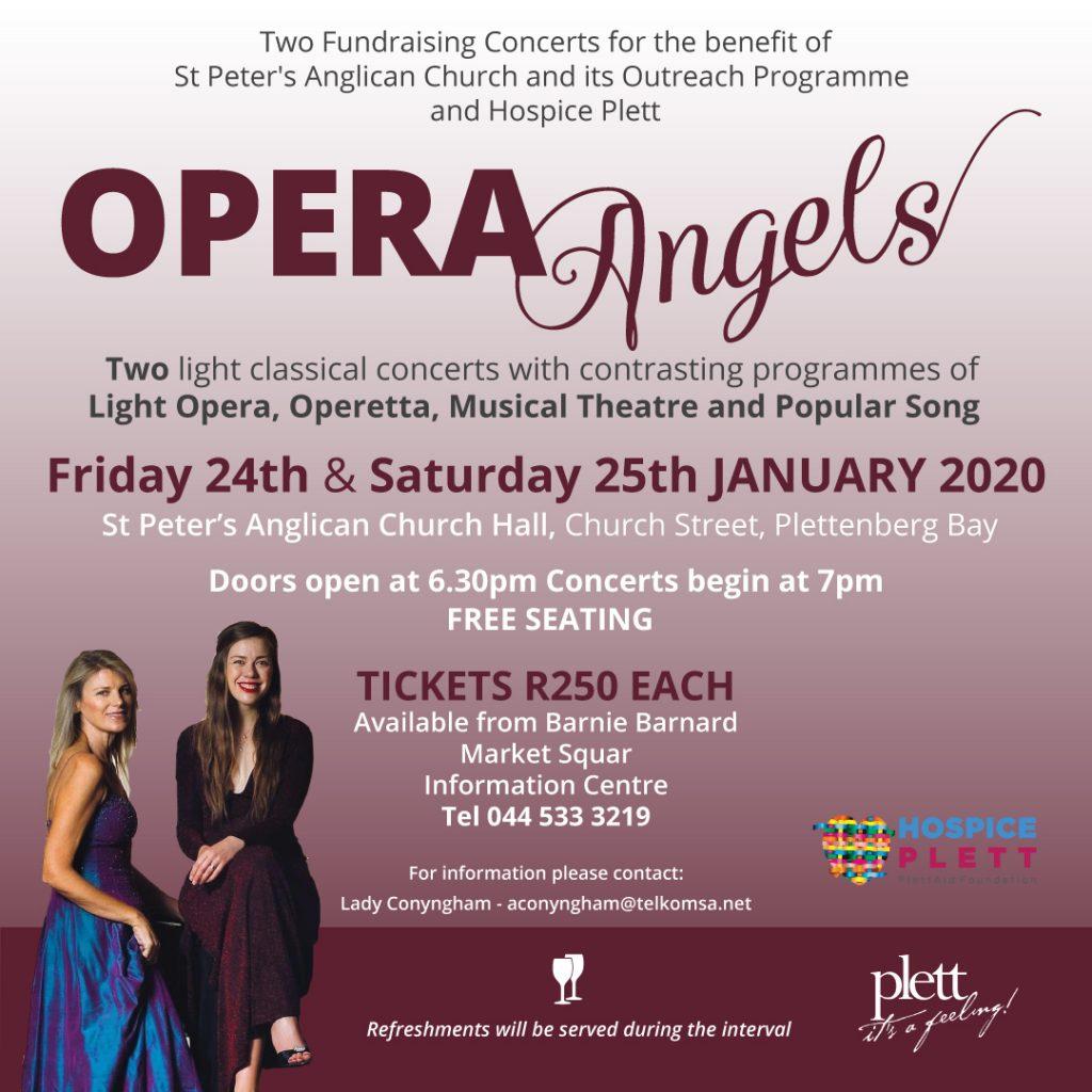 Opera Angels in Plett
