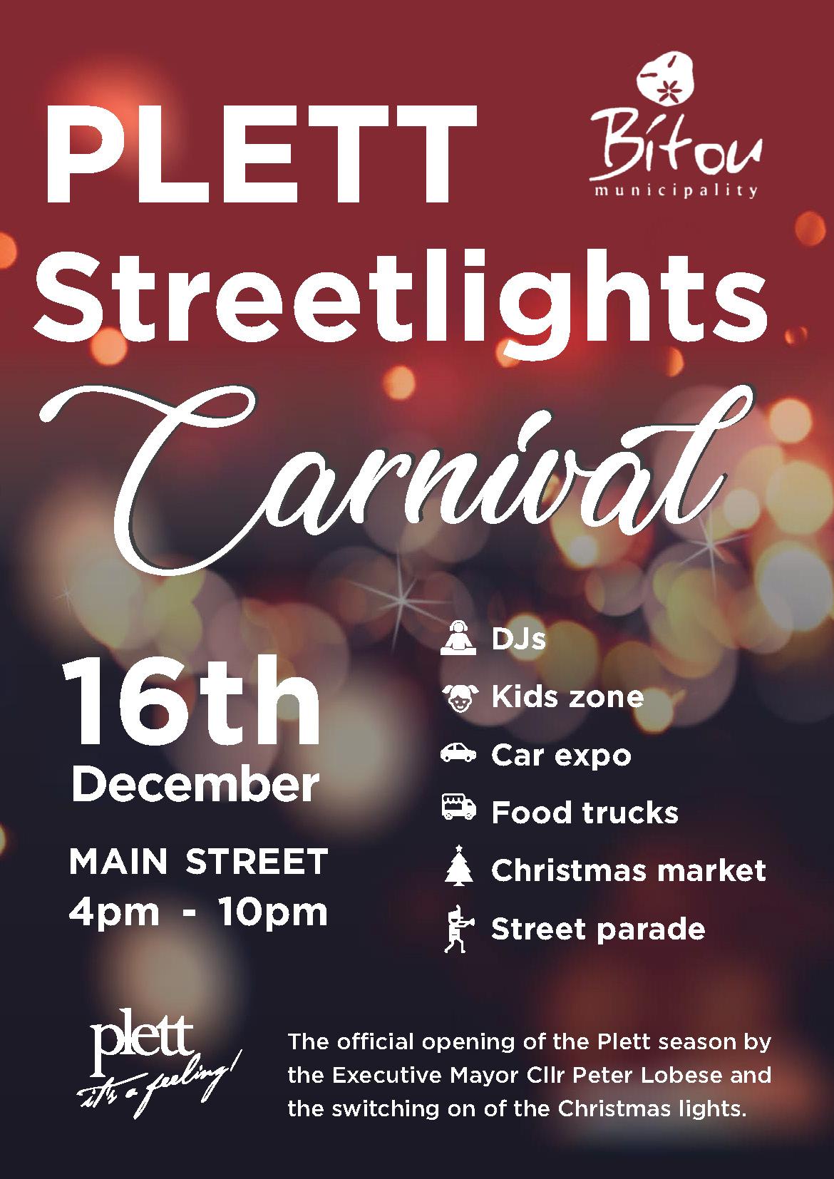 Plett Streetlights Carnival