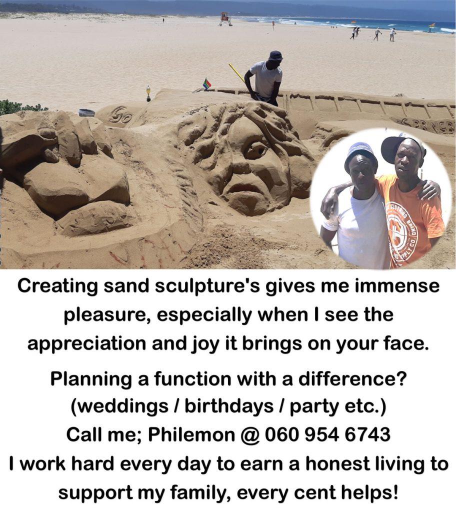 Sand Art in Plett