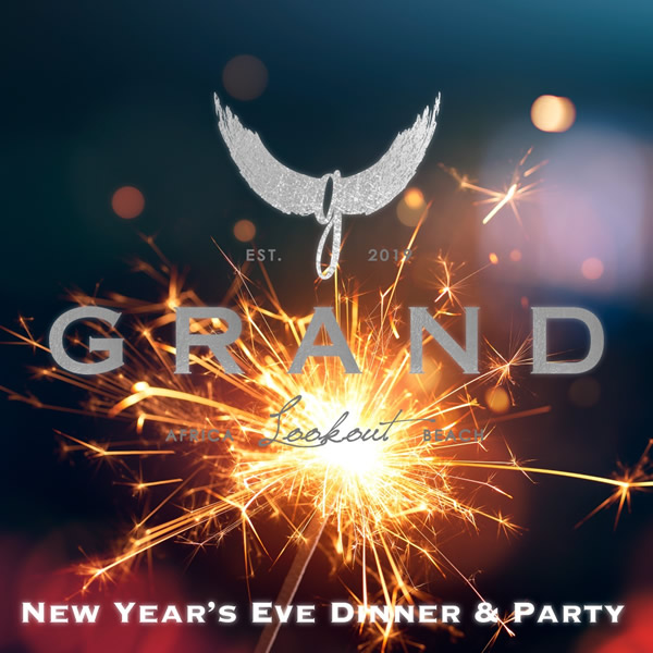 GRAND NEW YEAR'S EVE 31.12.2019 Grand Africa Lookout Beach