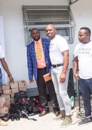 Local entrepreneur and entertainer DJ Mjilo gives back to the community
