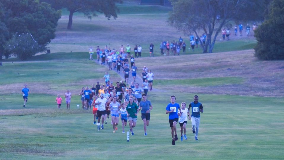 Twilight Run around the Plettenberg Bay Country Club golf course