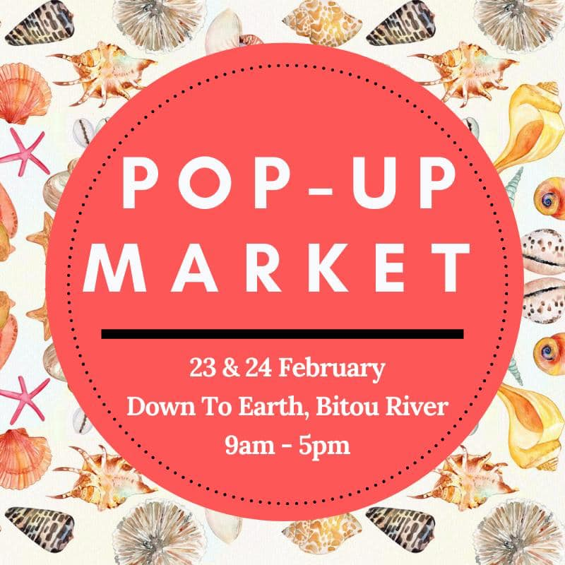 Down to Earth Popup Market 23-24 Feb 2020