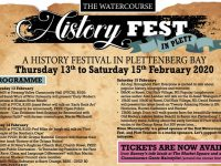 ON NOW: Watercourse History Fest in Plett
