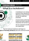 Lock-down explained