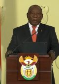 President declares nation-wide lockdown from midnight Thu 26 Mar