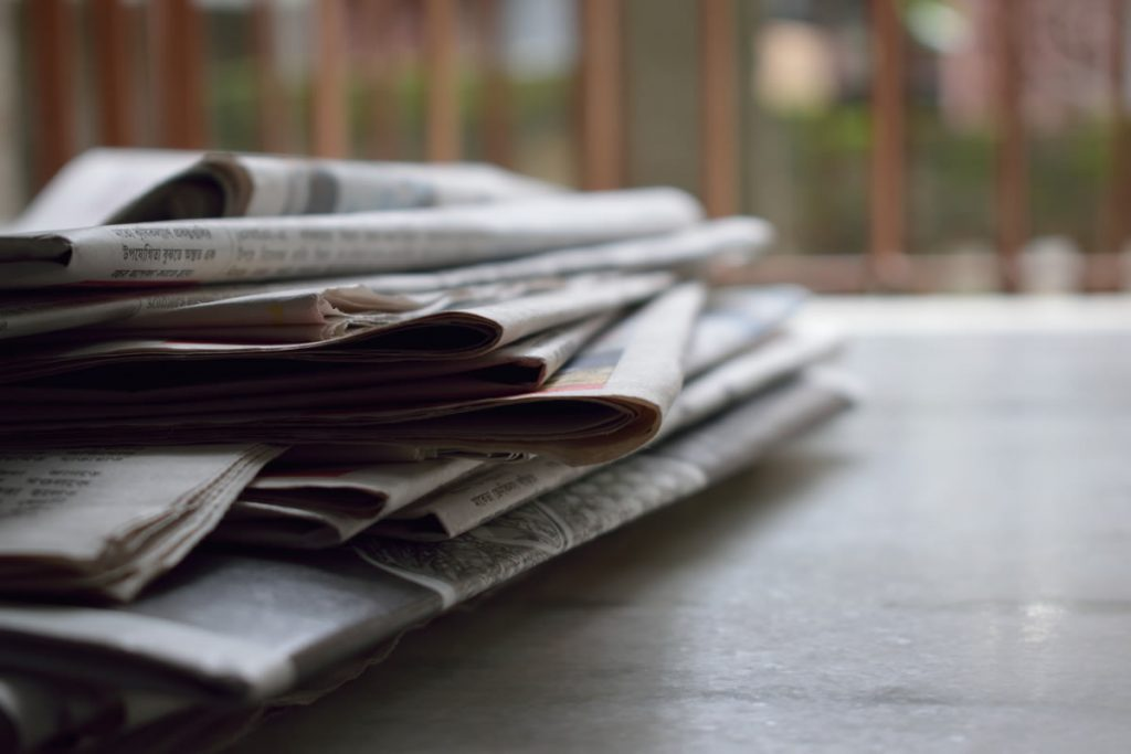 Print media has been pushed to the periphery by COVID-19