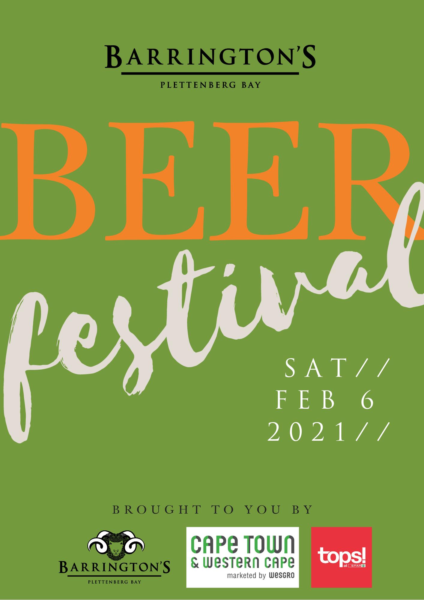 Barrington's Beer Festival in Plettenberg Bay