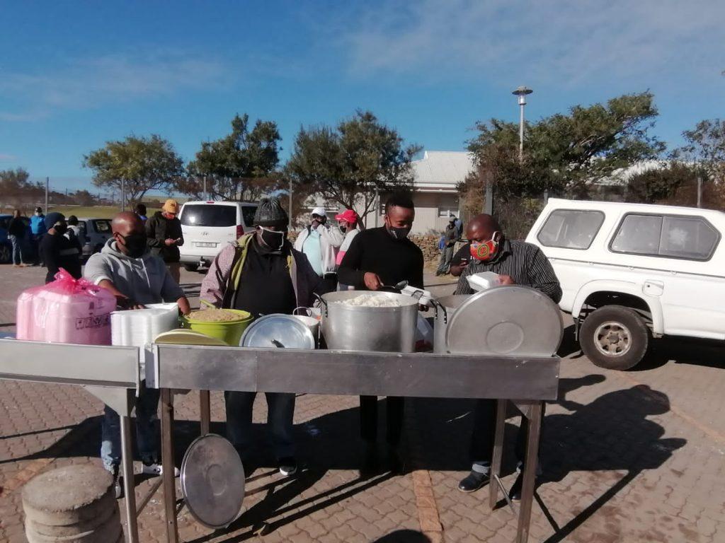 The Winter Warming Initiative in Kwanokuthula, Plett