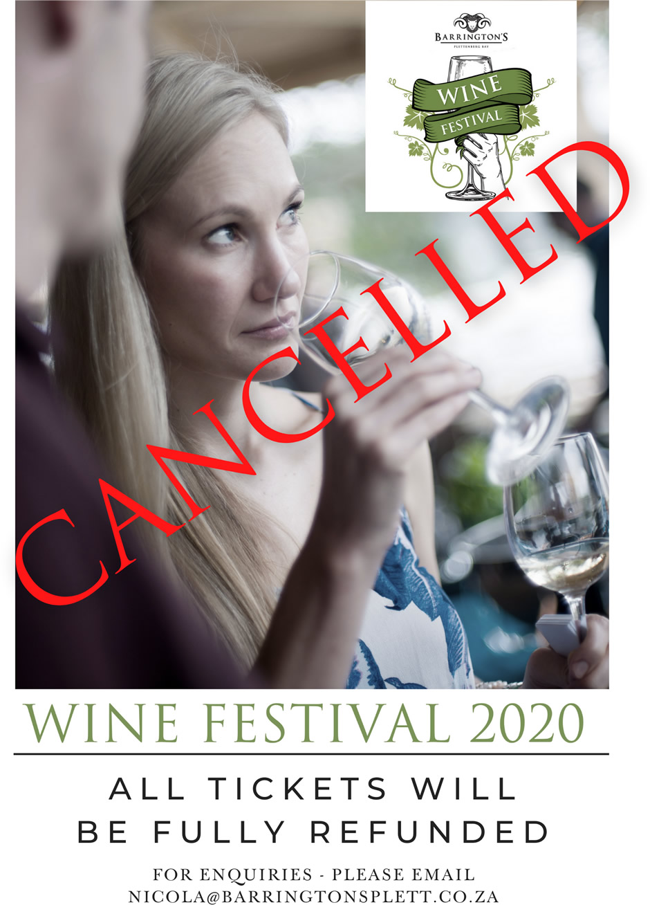 Wine Festival 2020 - CANCELLED