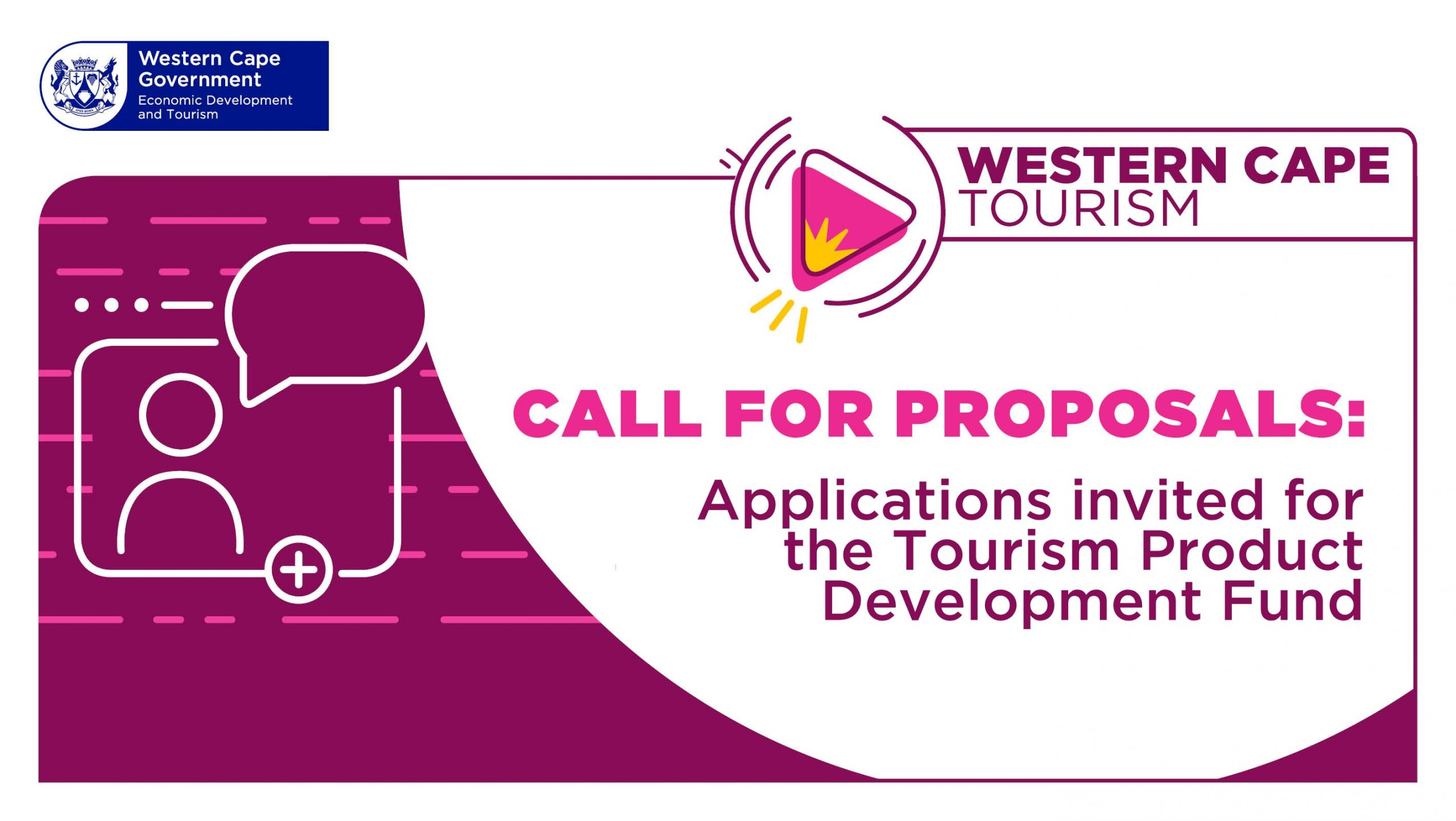 The Tourism Product Development seeks to develop new or existing tourism products and experiences within the Western Cape.