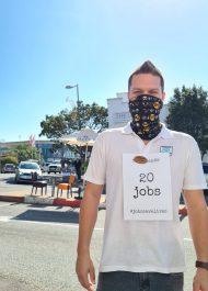 Plett's restaurants join the #JobsSaveLives protest