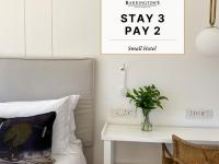 Stay 3. Pay 2. @ Barrington's Small Hotel
