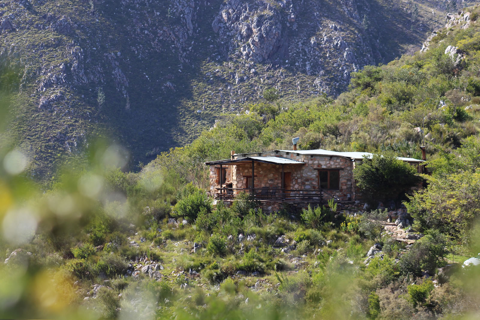 Cloud Cottage self catering accommodation on the Prince Alfred's Pass outside Plettenberg Bay
