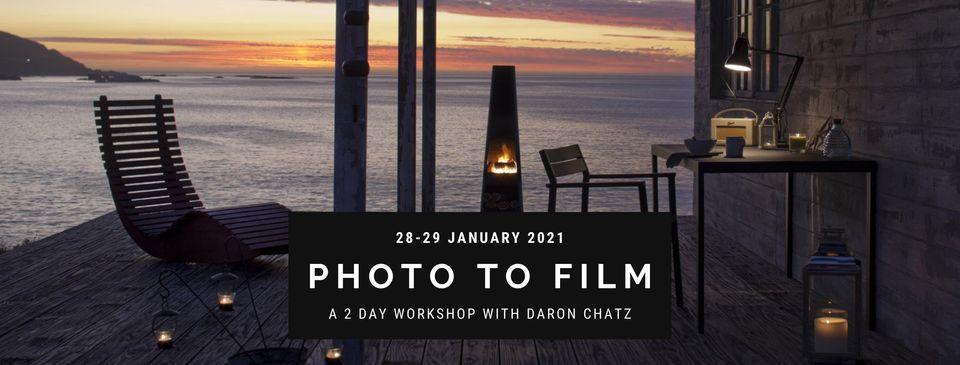 Photo to Film Workshop in Plett