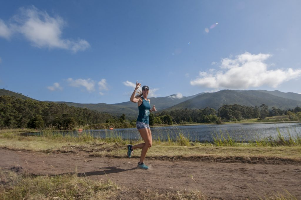 Sabrina Love Trail Run at Kurland in The Crags, Plettenberg Bay