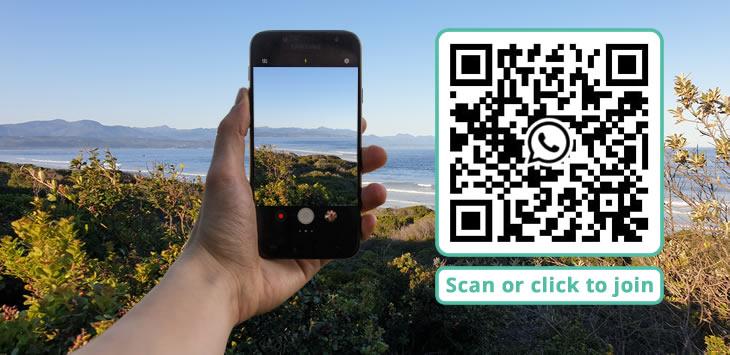 Join the Plett Tourism WhatsApp Group