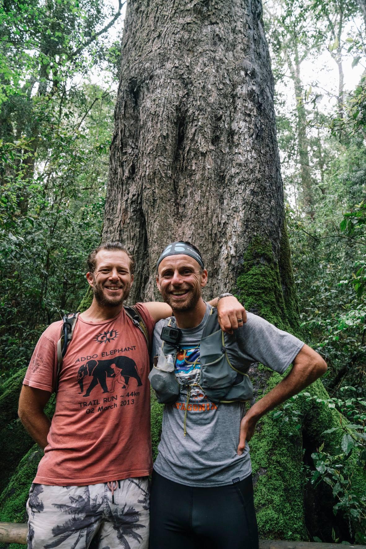 Clyde Berning and Damien Schumann 359km in 8 days Addo to Eden