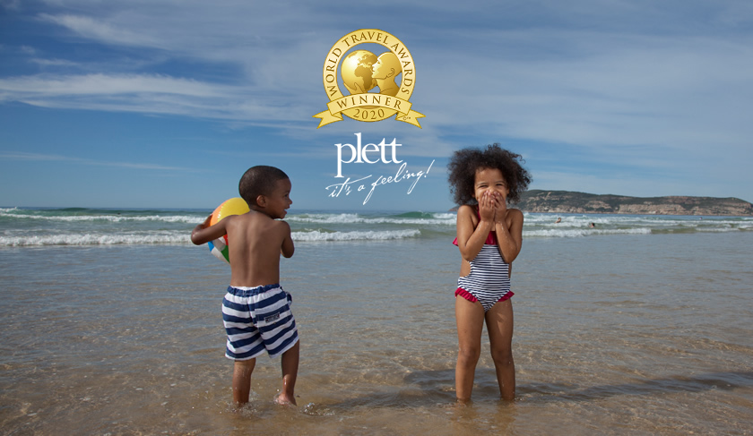 Plett wins award as Africa's Leading Beach Destination in the WTA World Travel Awards
