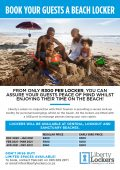 Book a beach locker for your guests