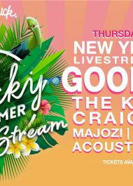 The Big NYE Get Lucky Summer Live Stream Festival