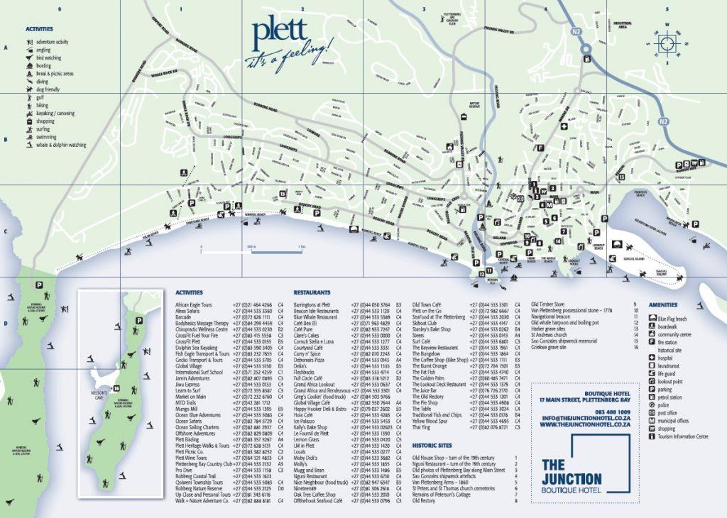 Plett Street Map