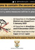 Festive season restrictions to contain 2nd wave of Covid-19