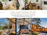25% OFF – SA Residents Special
