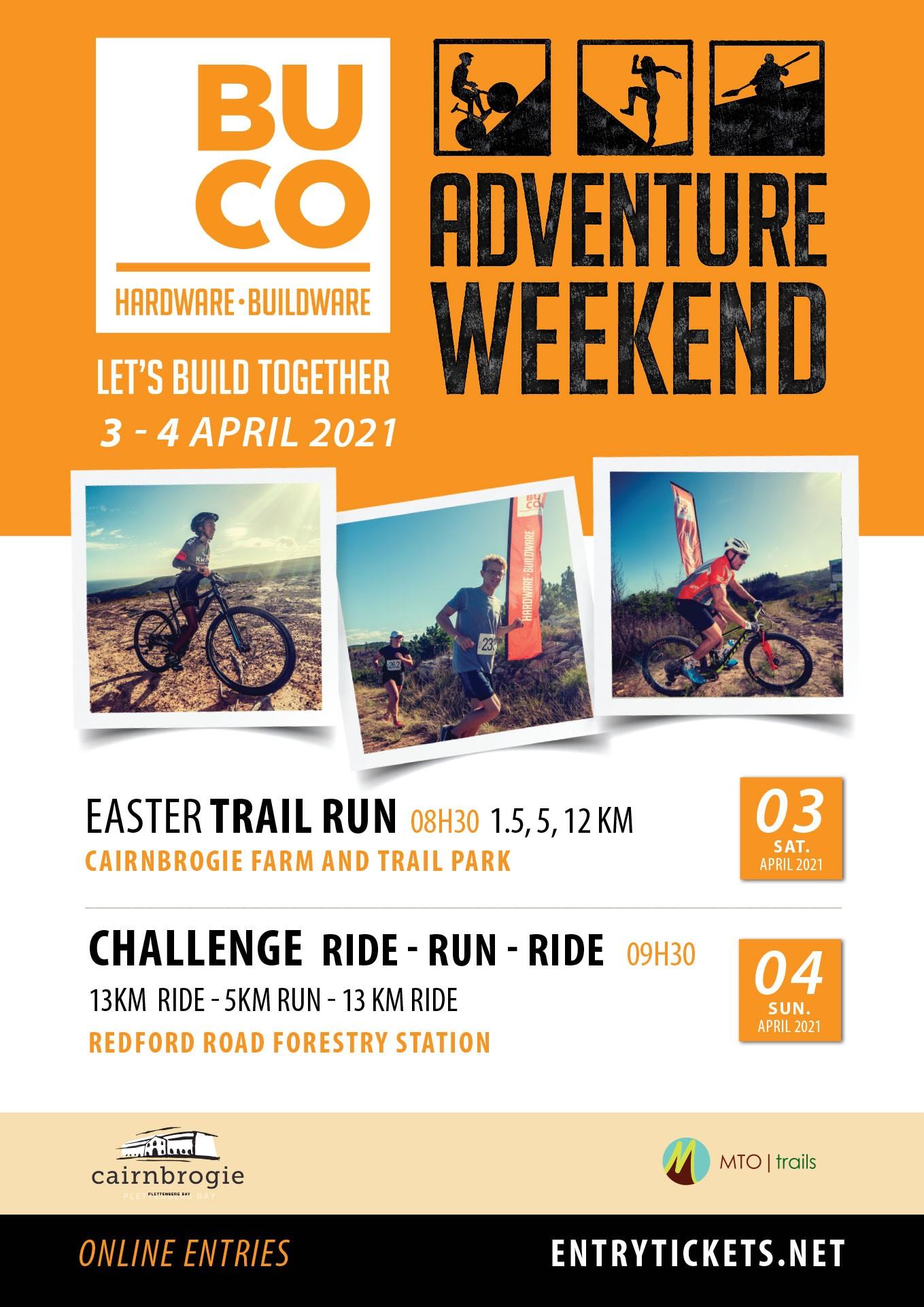Buco Adventure Weekend Trail Runs