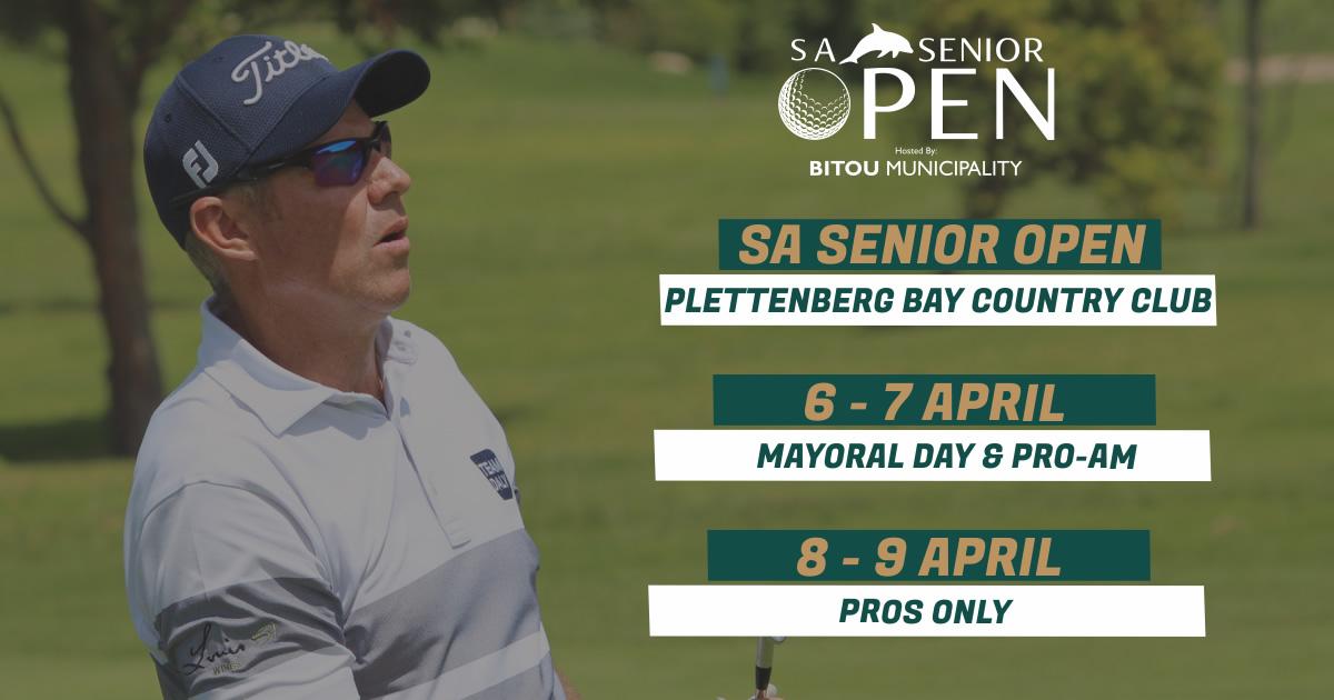 SA Senior Open Golf in Plett