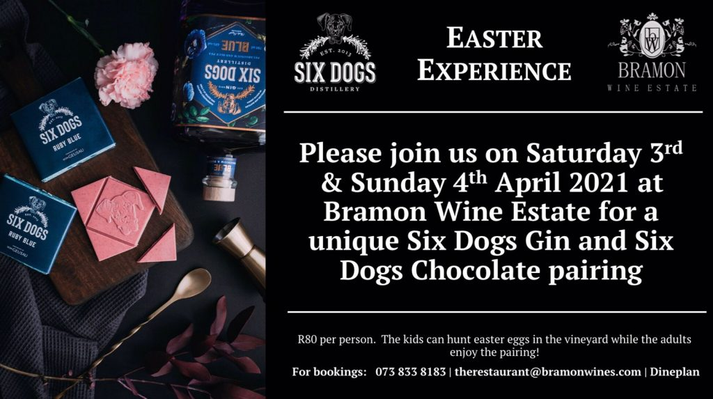 Six Dogs Gin Easter