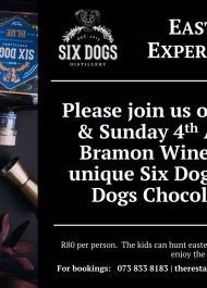SIX Dogs Gin Easter Weekend