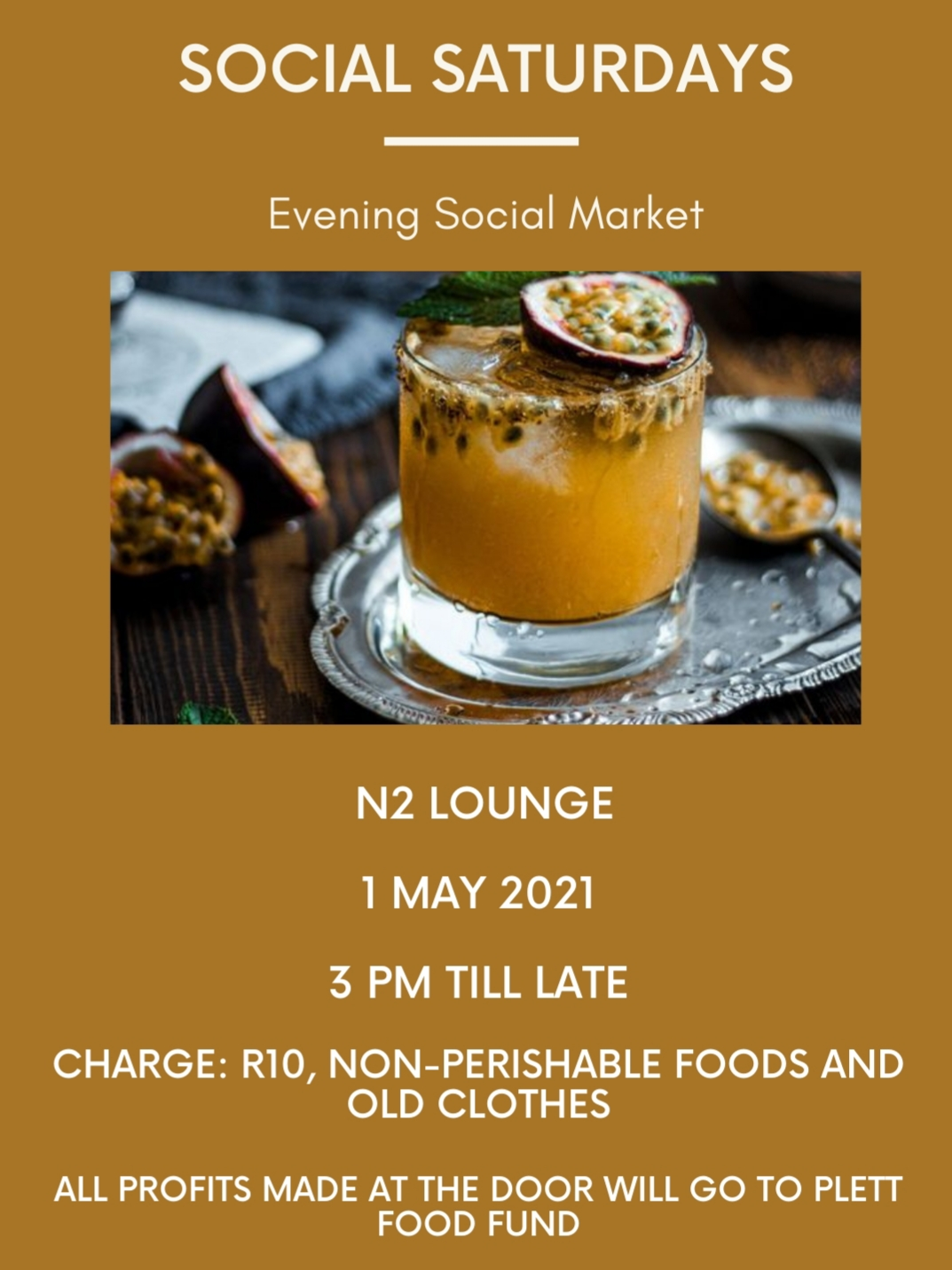 Social Saturdays at N2 Lounge in Kwanokuthula, Plett