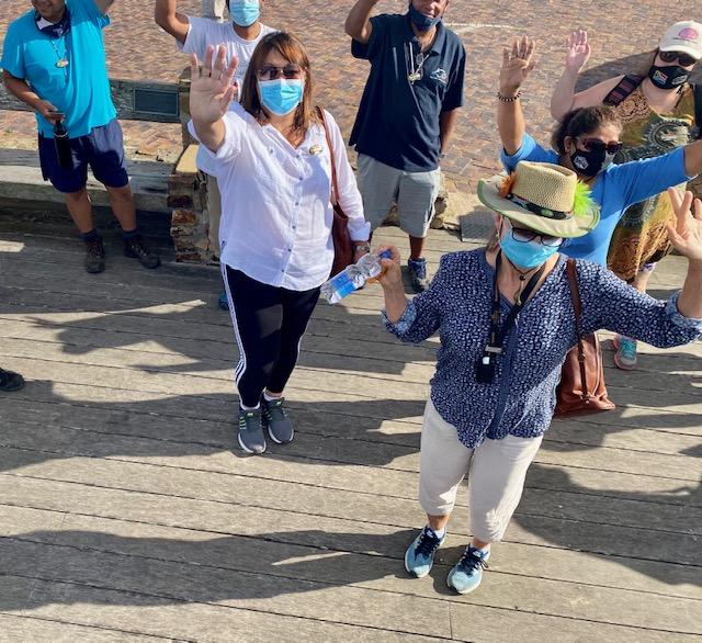 Cape Tour Guide Association in Plett as part of the Cradle of Human Culture Tour
