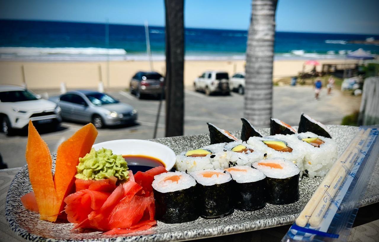 Spencer's Sushi at Hobie Beach in Plett
