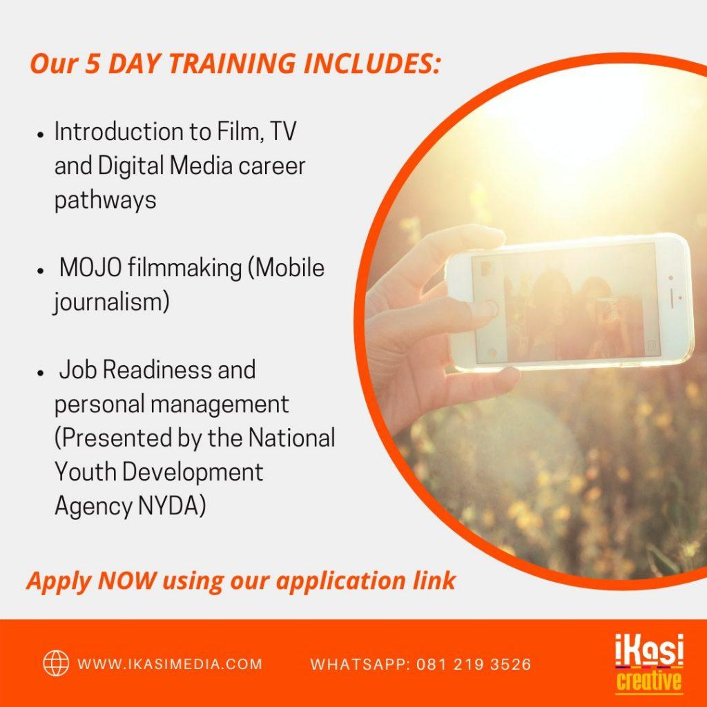 iKasi Creative free orientation course Plett in digital media and film