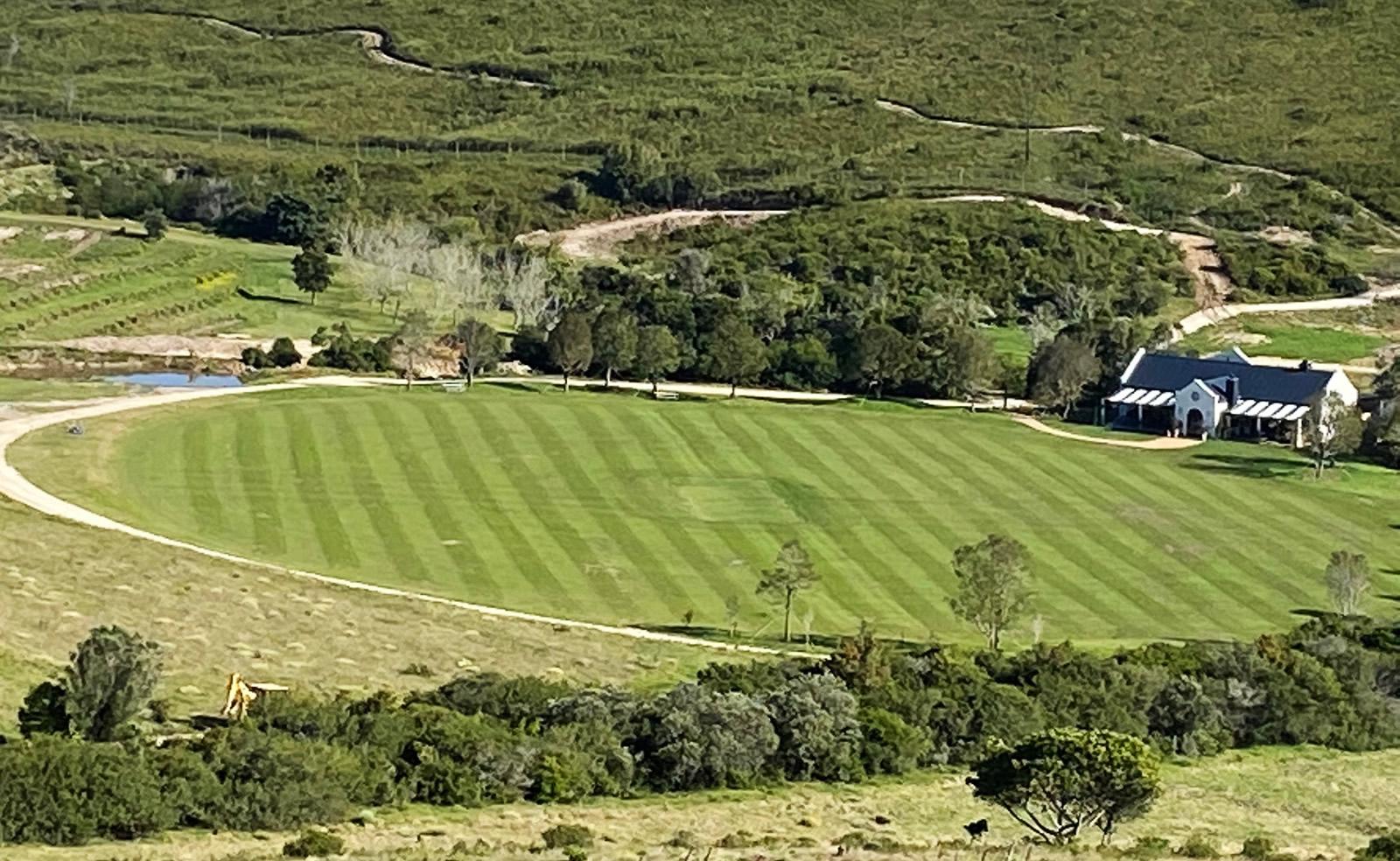 Ashford Cricket Oval in Plettenberg Bay - Cricket pitch in Plett