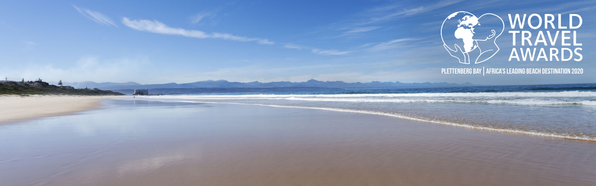 The beaches in Plett have won the town the award of Africa's Leading Beach Destination for 2020 at the World Travel Awards