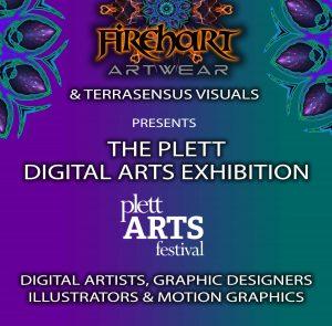 Firehart-DigitalArt-Exhibition-POSTER