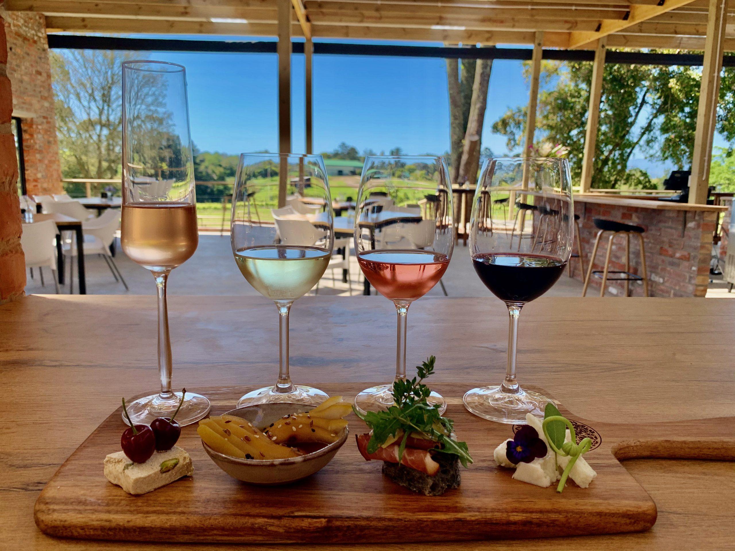 Luka Cafe in the Plett Winelands