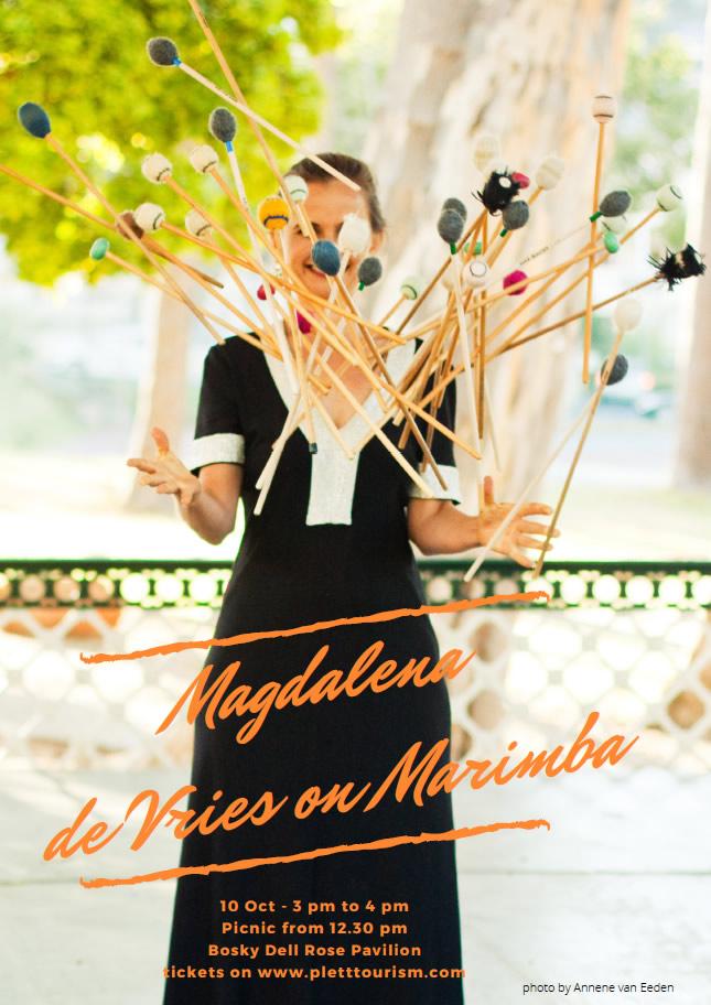 MAGDALENA DE VRIES ON MARIMBA